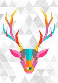 Poster Cervo na internet Poster S, Arte Pop, Art And Illustration, Iphone Wallpaper, Art Drawings, Images, Sketches, Scrapbook, Wall Art
