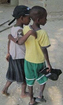 Best friends! This photo is from our Haiti, 2011 mission