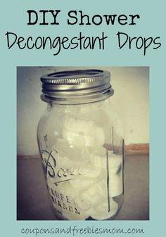 Shower Decongestant Drops