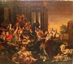 Barock Gemälde Biblische Szene