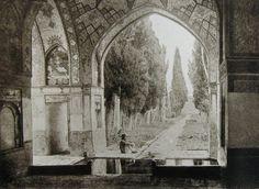 Antoin Sevruguin, Royal Palace, Kashan, Iran, c. 1880.
