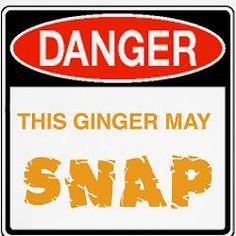 This Ginger May Snap....