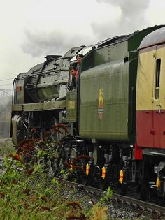 Britannia Class Pacific 4-6-2 Steam Loco No. 70000 'Britannia' ay York - 24th January 2012   Photo by allan5819 (Allan McKever) on Flickr
