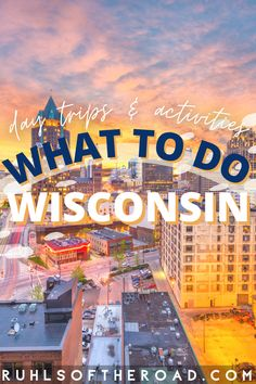 Wisconsin is Julie's home state. She grew up in Wisconsin Rapids, vacationed in Wisconsin Dells, learned to love the Wisconsin necessities (beer, sausage, cheese, football) and became the woman she is today! She knows this state inside out, and knows everything about what to do in Wisconsin. Let us be your guide on all of the fun day trips in Wisconsin across the state! Usa Travel Guide, Travel Usa, Travel Guides, Travel Tips, Travel Destinations, Usa Places To Visit, Visit Usa, Beautiful Places To Visit, Los Angeles Travel