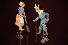 Frankreich. Yes, THIS is what I want to create...mechanical, flat rod puppets!