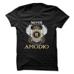 Cool AMODIO Tshirt blood runs though my veins