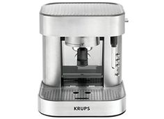 Krups XP602550 Definitive Series Stainless Steel Automatic Pump Espresso Maker ** Learn more by visiting the image link.