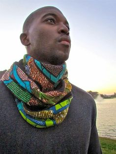 Info-tainment Kenya: African Men's Fashion: Accessorising with Arican Print Ties, Bowties, Scarves & Hats