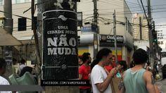 Parceria da IP com o coletivo RUA. Frase vencedora enviada por Eduardo Duzera. São Paulo - SP