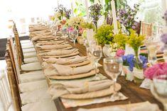 Decoração de Casamento ao ar livre. Cerimonial Gabriela Schneider Fotos por Marcelo Andrade