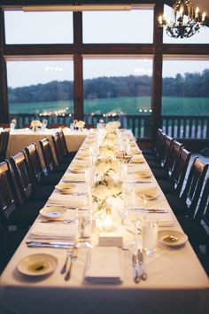 Adele & Brian jetted in from California to Canada to enjoy an intimate Vineland Estates reception with family and friends. Vineland Estates, Wedding Pictures, Wedding Ideas, Wedding Flowers, Table Settings, Reception, Romantic, Carriage House, Tablescapes