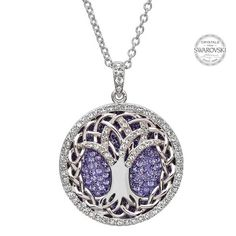 Swarovski Crystal Tree of Life - Faith and Begorra