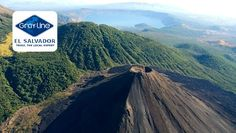 Volcan de Izalco, Cerro Verde y Lago de Coatepeque.