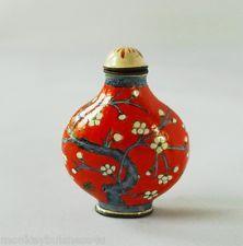 Oriental Antiques/Collectables - Cloisonne Snuff Bottle - Free P&P(UK)