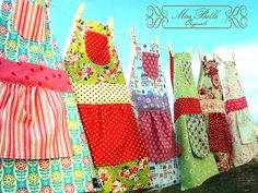 Boutique Childrens Aprons- made by Hana Lynch at Mae Belle Originals