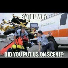 Memes any paramedic or EMT will laugh at : theCHIVE Paramedic Student, Paramedic Humor, Ems Humor, Medical Humor, Work Humor, Work Memes, Police Humor, Medical Care, Emt Memes