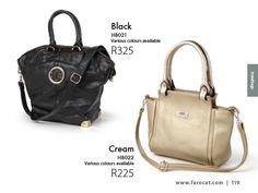 Stylish Handbags, Cream, Black, Fashion, Moda, Custard, Black People, All Black, Fasion