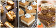 10 Irresistible Pumpkin Bars to Make This Fall