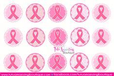 Pink-BCI Sheet- breast cancer awareness-3 Bottle Cap Necklace, Bottle Cap Art, Bottle Cap Crafts, Bottle Cap Images, Pink Ribbon Day, Breast Cancer Crafts, Image Sheet, Beadwork Designs, Making Hair Bows