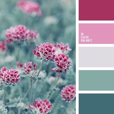 Color Inspiration I cool colors . . . The color palette 2137 Cheerful rainbow palette rich