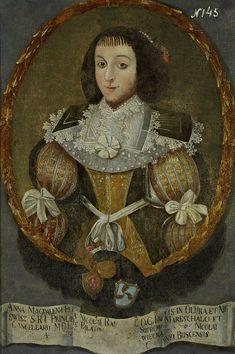 Muzeum Cyfrowe dMuseion - Portret Anny Magdaleny z Radziwiłłów Tworowskiej (1553-1590)