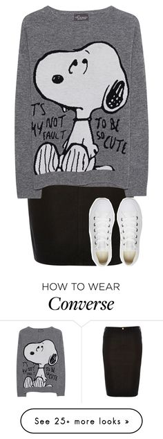 """""""just bored lol"""" by kateremington-1 on Polyvore featuring River Island, Princess Goes Hollywood and Converse"""