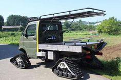 Small Trucks, Mini Trucks, Custom Trucks, Cool Trucks, Pickup Trucks, Custom Cars, Cool Cars, Mini 4x4, Little Truck
