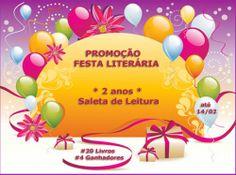 Ainda dá tempo de participar da #Promoção #FestaLiterária e concorrer a um dos kits presenteados!