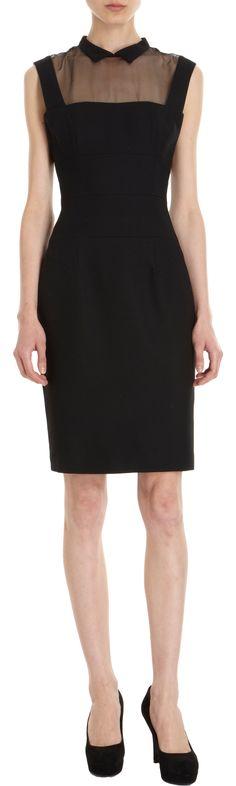 L'Wren Scott Sheer Yoke Dress at Barneys.com