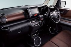 New Release 2015 Honda N BOX SLASH Review Interior View Model