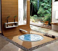 decorar baño estilo japones