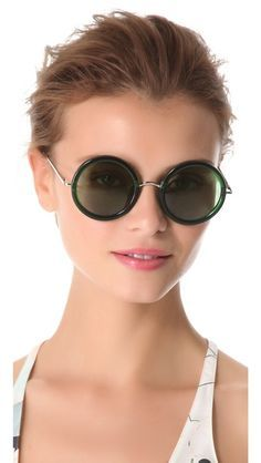 circular sunglasses The Row - Google Search