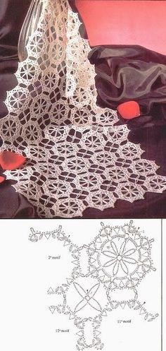 Motivo Circular De Crochê (Ivelise Feito à Mão)
