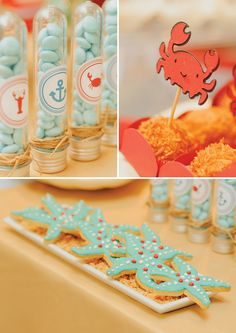 Boy's Under the Sea First Birthday Party