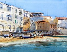 David Taylor - Painting watercolor in Girona - DVD - Movie - Film - Enjoy painting watercolor in Girona - Catalunya - Aquarelle - Acuarela Download Movie