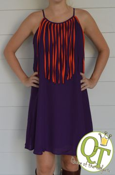 The best selection of game day dresses for the football fanatic - http://TailgateQueen.com