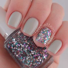 Julep Winter and Essie Jazzy Jubilant : @lifeisbetterpolished