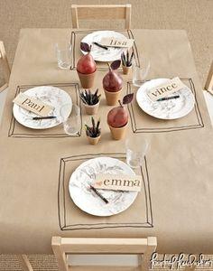 Kourtney Kardashian – Kids Christmas Table Inspirations   Kourtney Kardashian