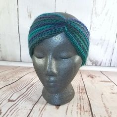 Winter Headband, Earwarmer, Earwarmer Headband, Winter Headwrap, Adult Earwarmer, Adult Headband, Turban Earwarmer Headband, Warm Headwrap   Stay warm and comfortable while keeping your hair up or down with this beautiful earwarmer headband in jewel tones of green, purple, and blue. Easily fits teens or adults!    MEASUREMENTS Fits teens and adults, stretching easily to accommodate a circumference of 18-25. A height of 3.5 ensures that your ears will stay covered and warm!  WASHING…
