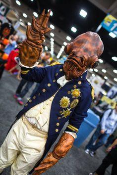 Adam Savage (of Mythbusters) as Admiral Ackbar