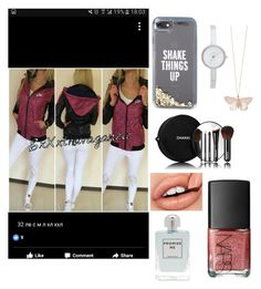 """""""Untitled #838"""" by arzu-alieva ❤ liked on Polyvore featuring beauty, Kate Spade, DKNY, Alex Monroe, Chanel, NARS Cosmetics and Aéropostale"""