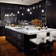 Modern Kitchen Cabinets Black cynthia porche | luxury kitchens, luxury and kitchens