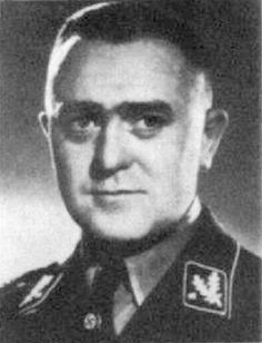 Jakob Sporrenberg (16 September 1902 – 6 December 1952) was a SS-Gruppenführer und Generalleutnant der Polizei in Minsk, Belarus and Lublin, Poland. After the war, Sporrenberg stood trial in Poland and was convicted in 1950 of war crimes and sentenced to death. He was executed in December 1952.