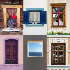Windows by:  R1C1: @pipienriccia R1C2: @zenaroledo R2C1: @cangosz.ioannis R2C2: @caro_ribery R3C1: @anneoulie R3C2: @beatrice.moraru  Congratulations!  Tag #windowsanddoorsoftheworld to be featured!