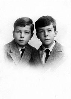 His Royal Highness Prince Sigvard of Sweden, Duke of Uppland (1907-2002) and His Royal Highness Prince Gustav Adolf of Sweden, Duke of Västerbotten (1906-1947)