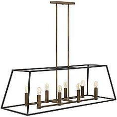 Fulton 8-Light 48-Inch-W Bronze Hinkley Chandelier $799