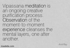 Amit Ray on Vipassana