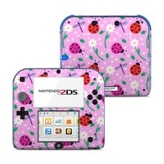 nintendo Ladybug Land Nintendo Skin - Covers Nintendo for custom style . Nintendo 2ds, Consoles, Fun Games, Ladybug, Cool Stuff, Toys, Cover, Gaming, Star Wars
