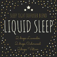 I need sleep! for the diffuser or one drop each onto the feet. #ZZzzZzzZ…