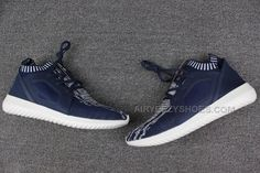 46173a2e888c adidas Tubular Defiant W Primeknit Men Navy Blue
